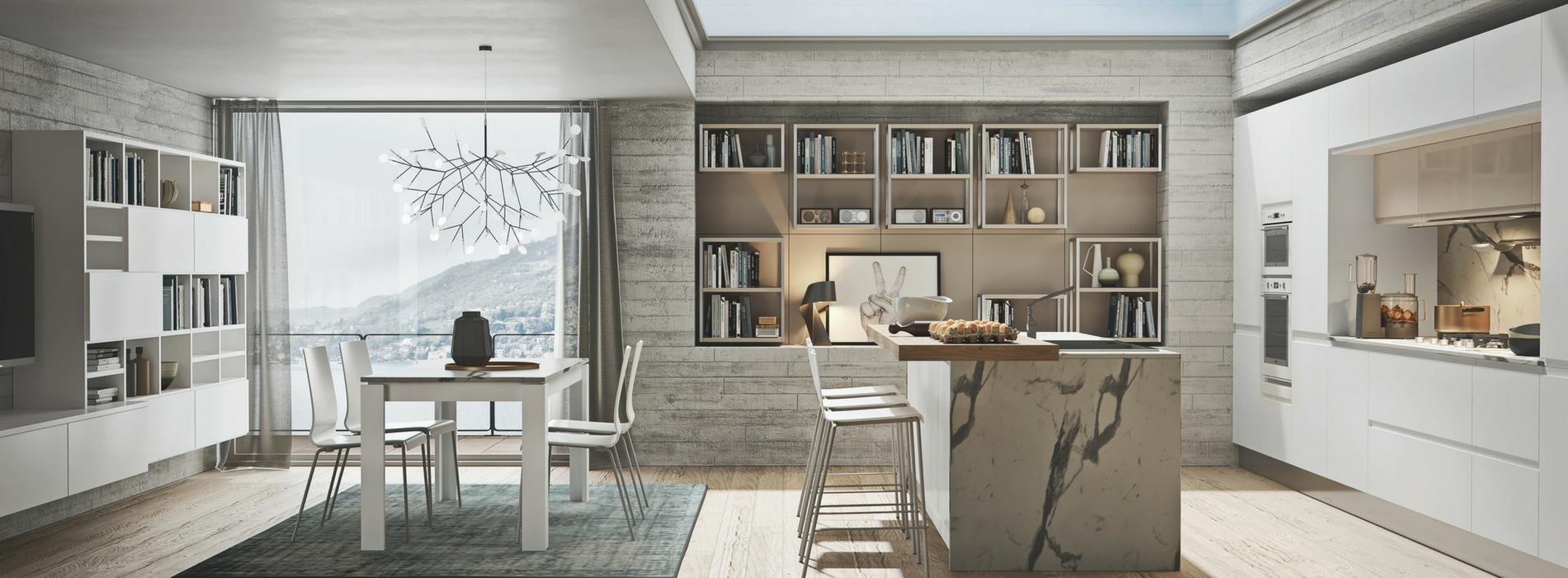 Cucine open space con isola la scelta giusta variata - Cucine open space con isola ...